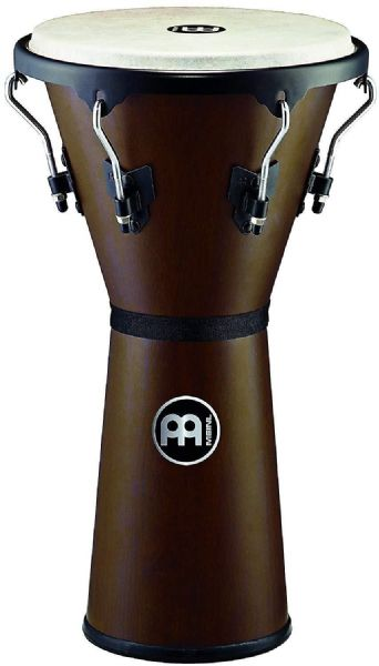 Meinl Percussion 12 1/2 inch Headliner Series Wood Djembe - wine - HDJ500VWB